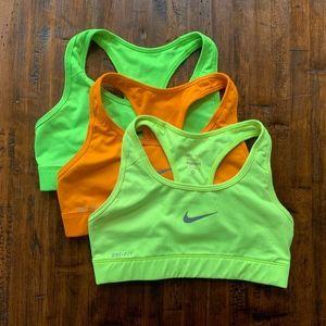Nike Pro Sri-Fit Sports Bras 3 Pack